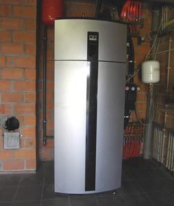 Een warmtepomp combineren met een CV-houtkachel