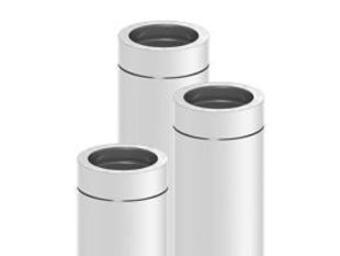 H&M Platdak Rookgaspakket ø130 3 meter
