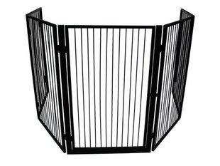 Südmetall Veiligheidsrek t.b.v. kachel, 5-delig, zwart, vierkant