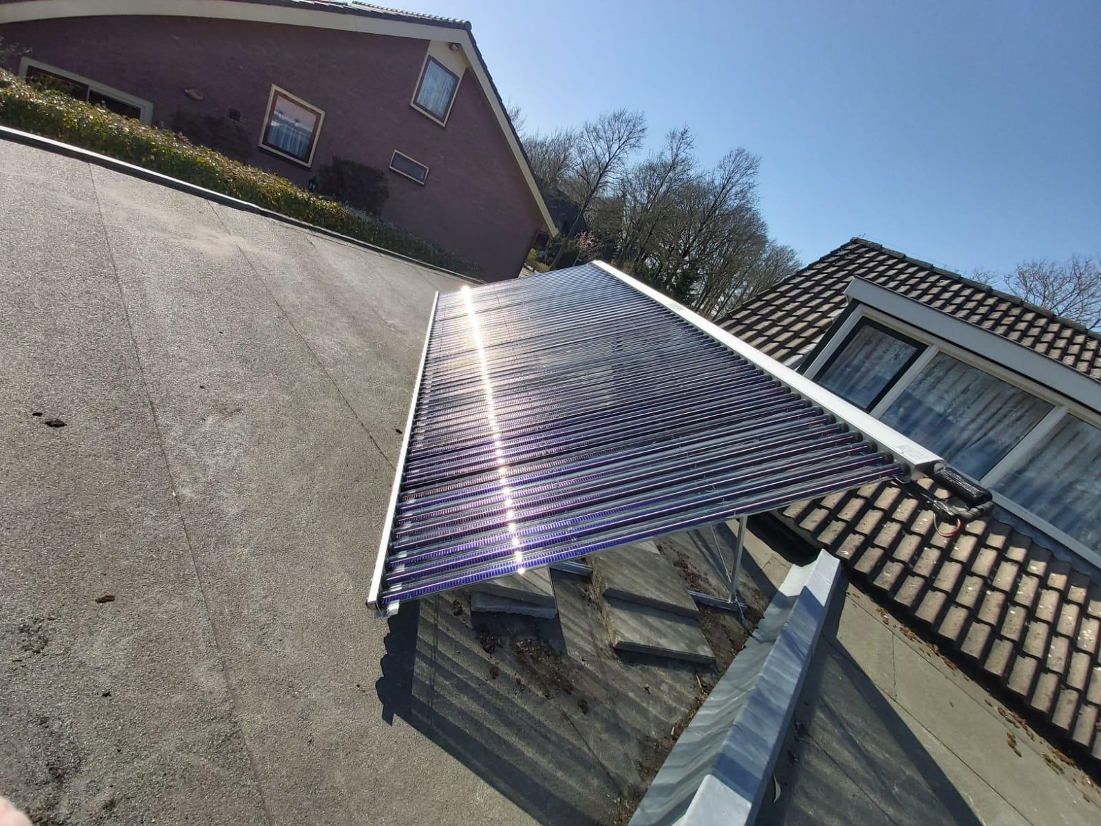 Duurzaam verwarmen met zonnecollectoren