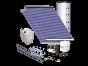 AkoTec Set voor tapwater/verwarmingsondersteuning (small), plat dak