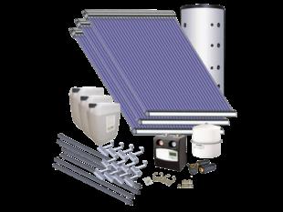 AkoTec Set voor tapwater/verwarmingsondersteuning (large), schuindak