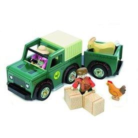 Le Toy Van Houten Jeep met Trailer, Le Toy Van