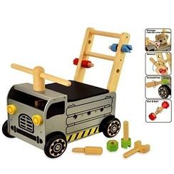 Houten Loopwagen Werktruck; I'm Toy