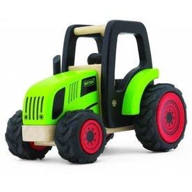 Pintoy Houten Tractor excl. aanhanger, Pintoy