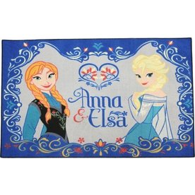 Worlds Apart, Disney  Vloerkleed /Speelkleed Frozen Anna en Elsa