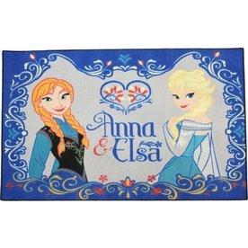 Worlds Apart Vloerkleed /Speelkleed Frozen Anna en Elsa