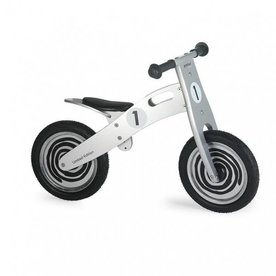 Simply For Kids Houten Loopfiets Zilver, Simply for Kids