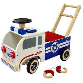 I'm Toy  Houten Loopauto Politie, I'm Toy