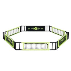 EXIT Rapido Foot-Skills-Trainer (Hexagon Rebounder Court) GRATIS BAL
