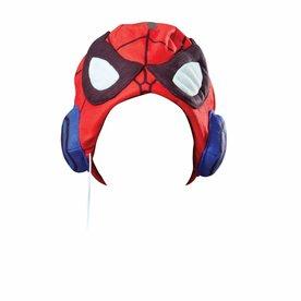 Worlds Apart Spiderman koptelefoon met muts