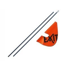 EXIT Veiligheidsvlag (voor Foxy en Spider)