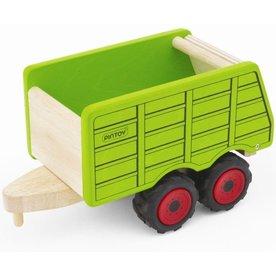 Pintoy Houten Aanhanger voor Tractor