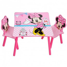 Worlds Apart, Disney  Minnie Mouse Tafel met Stoeltjes, Worlds Apart