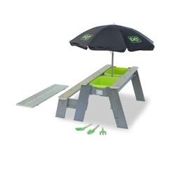 EXIT Aksent zand-, water- en picknicktafel (1 bankje) de luxe