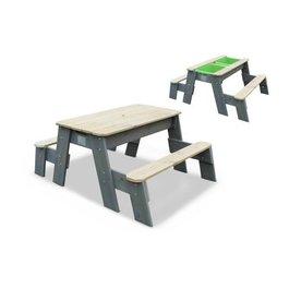 EXIT Aksent zand-, water- en picknicktafel (2 bankjes)