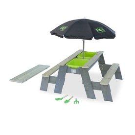 EXIT Aksent zand-, water- en picknicktafel de luxe