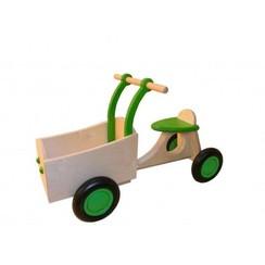 Kinderbakfiets Groen, van Dijk Toys