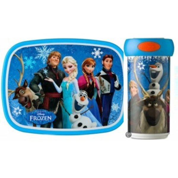 Frozen Frozen Lunchbox en Drinkbeker, Mepal set van 2