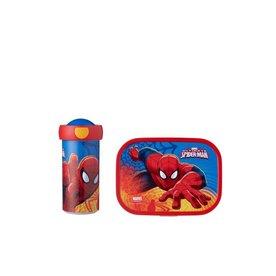 Lunchset Spiderman luchbox en drinkbeker