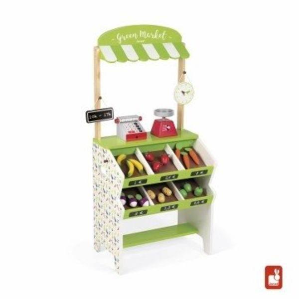 Leuke houten winkeltjes super leuk voor kindjes die graag samen spelen