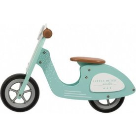 Little Dutch Little Dutch Houten Loopscooter mint