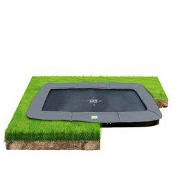Exit EXIT InTerra groundlevel trampoline 214x366cm - grijs