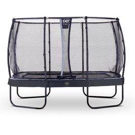 Exit EXIT Elegant Premium rechthoekige trampoline 244x427cm + net Deluxe - zwart