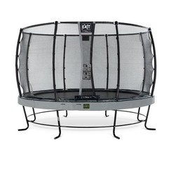 EXIT Elegant Premium trampoline ø427cm + net Deluxe - grijs