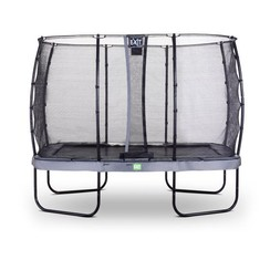 EXIT Elegant Premium trampoline 214x366cm  + net Deluxe - grijs
