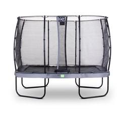 EXIT Elegant Premium trampoline 244x427cm + net Deluxe - grijs