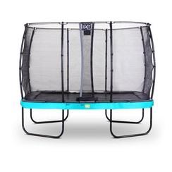 EXIT Elegant Premium trampoline 244x427cm met net Deluxe - blauw