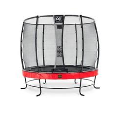 EXIT Elegant Premium trampoline ø253cm met net Deluxe - rood