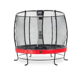 Exit EXIT Elegant Premium trampoline ø253cm met net Deluxe - rood