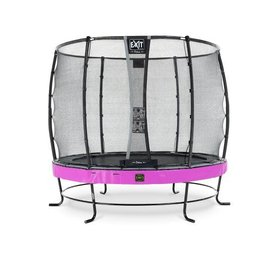 Exit EXIT Elegant Premium trampoline ø253cm met veiligheidsnet Deluxe - paars