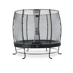 EXIT Elegant Premium trampoline ø253cm met net Economy - zwart