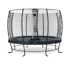 EXIT Elegant Premium trampoline met net, Economy - zwart, ø366cm