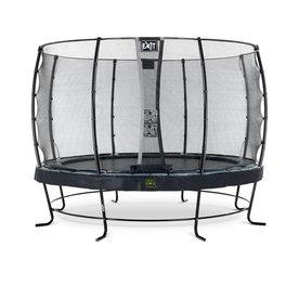 Exit EXIT Elegant Premium trampoline met net, Economy - zwart, ø366cm