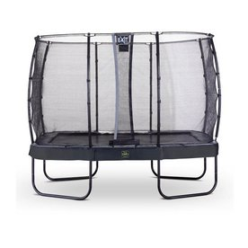 Exit EXIT Elegant Premium trampoline met net, Economy - zwart, ø214x366 cm