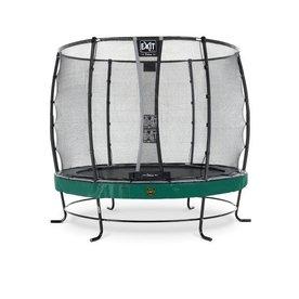 Exit EXIT Elegant Premium trampoline ø253cm met veiligheidsnet Economy - groen