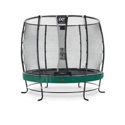 EXIT Elegant Premium trampoline met net, Economy - groen, ø305cm
