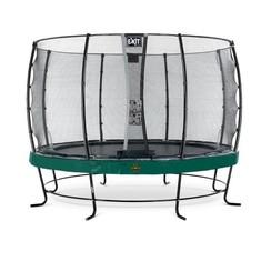 EXIT Elegant Premium trampoline ø427cm met veiligheidsnet Economy - groen