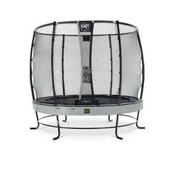 EXIT Elegant Premium trampoline met net, Economy - grijs, ø253cm