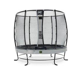 Exit EXIT Elegant Premium trampoline met net, Economy - grijs, ø253cm