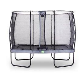 Exit EXIT Elegant Premium trampoline met net, Economy - grijs  ø214x366 cm