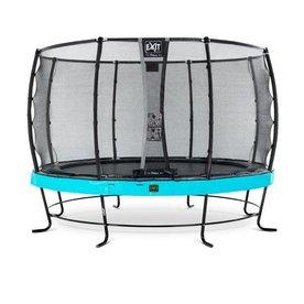 Exit EXIT Elegant Premium trampoline met net, Economy - blauw, ø366cm