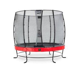 Exit EXIT Elegant Premium trampoline ø253cm met net Economy - rood