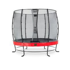 EXIT Elegant Premium trampoline ø305cm met net Economy - rood