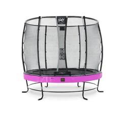 EXIT Elegant Premium trampoline ø305cm met net Economy - paars