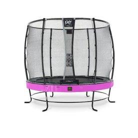 Exit EXIT Elegant Premium trampoline ø305cm met net Economy - paars